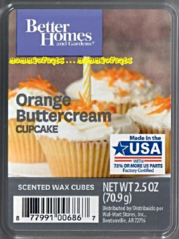 5412753f7ccda645166cd97228a676f9 - Better Homes And Gardens Orange Buttercream Cupcake Wax Cubes