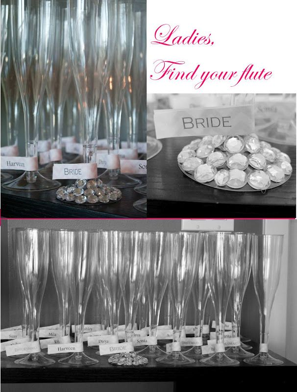 rivernorthLove: The{little}Details Event: Bling & Bubbly Bridal Shower- the Bellini Bar