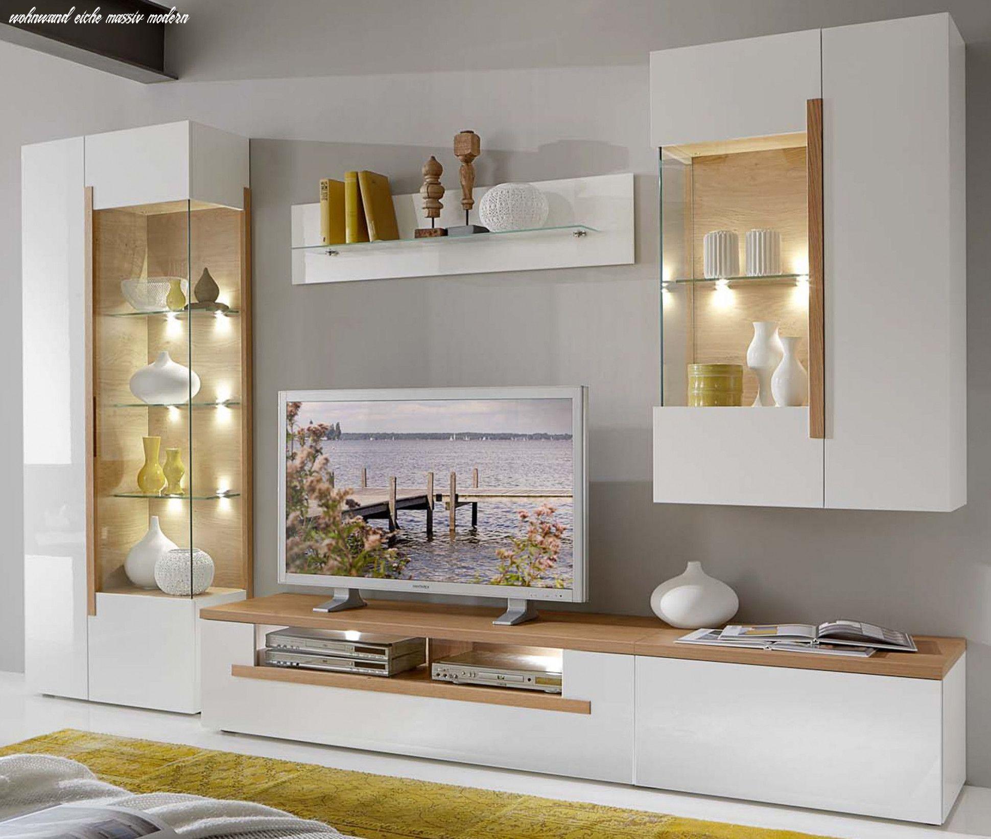 Zehn Möglichkeiten, Sich Auf Wohnwand Eiche Massiv Modern