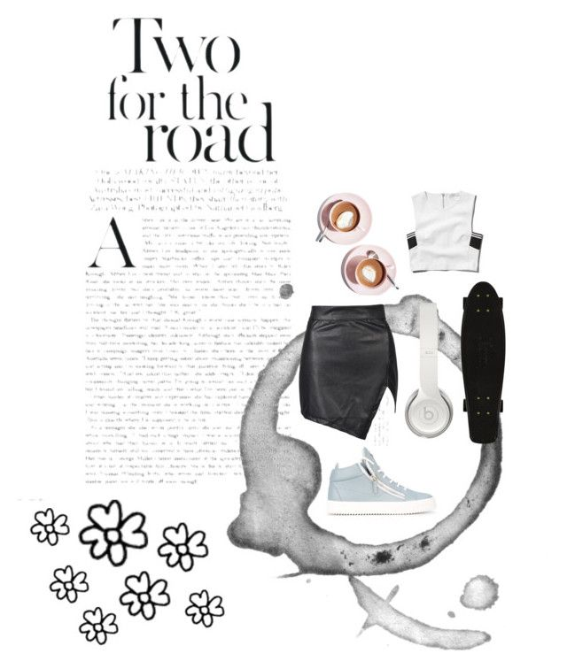 """Chic travel"" by eperfetti1997 on Polyvore featuring Abercrombie & Fitch, Martha Stewart, Beats by Dr. Dre and Giuseppe Zanotti"