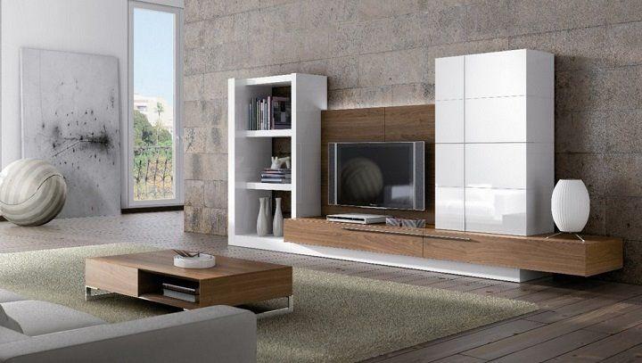 Muebles Lacados Blanco Para Salon.Diseno Ultima Tendencia Para Decorar Tu Casa O