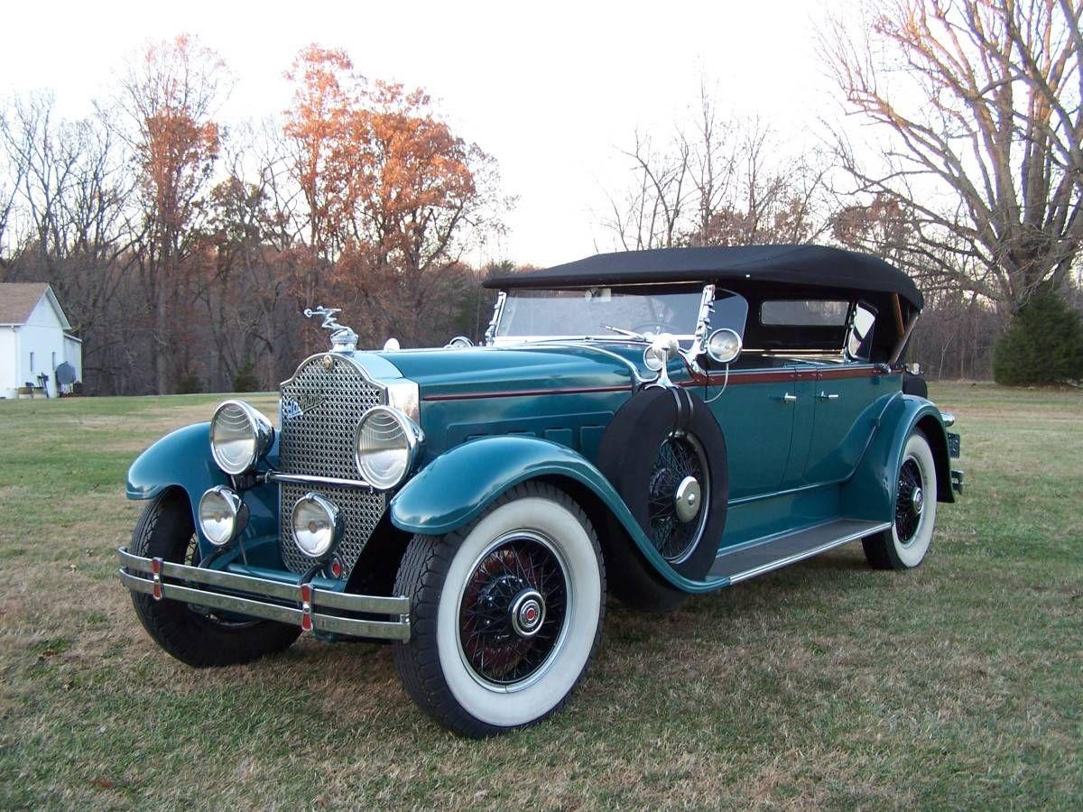 1929 Packard 645 Custom Dietrich Dual Cowl Phaeton - (Packard ...