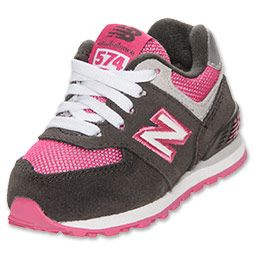 girls' preschool new balance 574 rainbow shoes