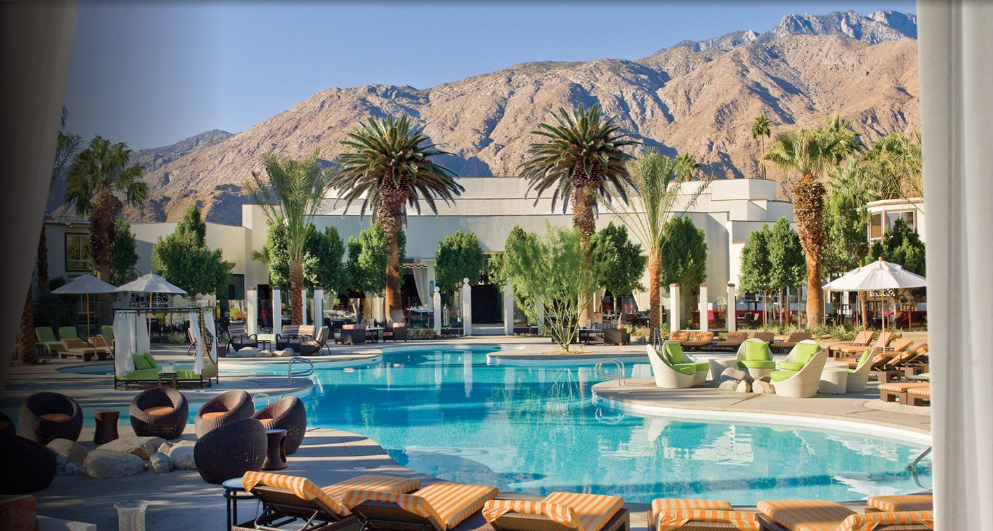 Palm Springs Hotels >> Palm Springs Hotels Riviera Palm Springs Resort Spa Happy Hour