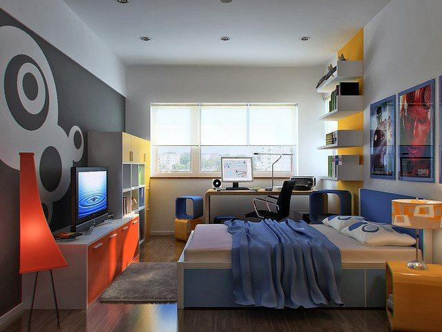 Habitación para niños #diseño #interiores #arquitectura Interior - diseo de habitaciones para nios