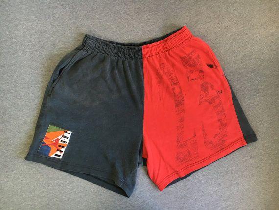 db38cbd2e1e047 NIKE AIR JORDAN Shorts 90 s Vintage  Jumpman Cotton Basketball ...