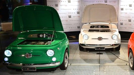 The SMEG 500 Is A Chilling, Retro Design Collaboration Between Italyu0027s Fiat  And Appliance Manufacturer, SMEG.