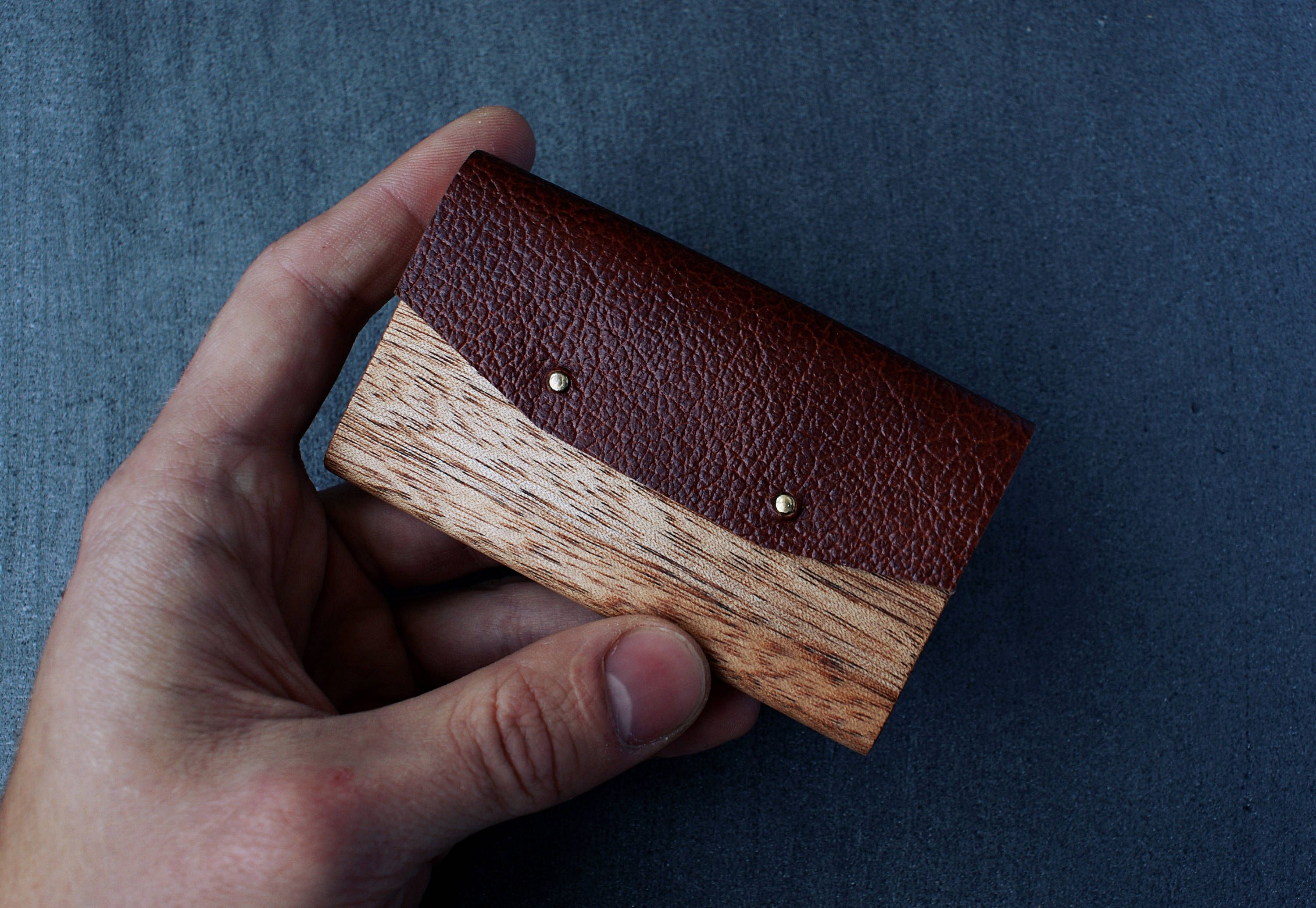 Business card holder business card case wood business card holder business card holder business card case wood business card holder leather business card holder gift for men card holder wallet gift reheart Choice Image