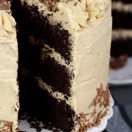 Recette : gâteau au chocolat et buttercream au beurre de ...