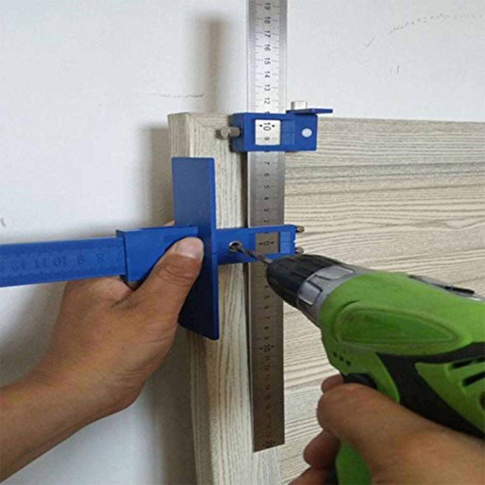 Drill Guide Sleeve Cabinet Hardware Jig Drawer Pull Wood Drilling