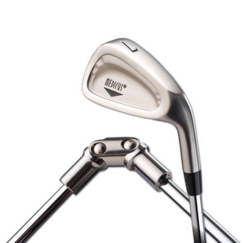Medicus Dual Hinge 7 Iron Left Handed by Medicus. $85.70. The Medicus has been chosen by golf pros as the #1 swing trainer club in the world. It is the best selling golf training aid ever! It is used by over half a million amateur golfers and thousands of professionals and now it's BETTER THAN EVER! Once you learn to swing the Medicus without breaking it you know you are swinging in tempo and on plane. You'll get rid of that slice and start hitting longer, straighter shots and...