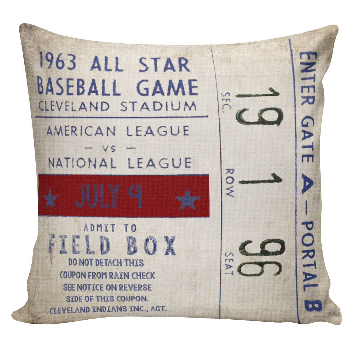 Sports Theme Rectangle Pillow Covers