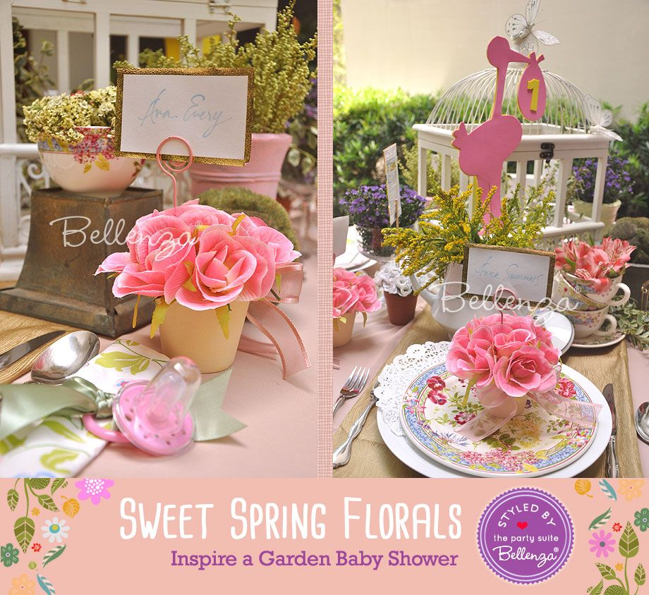 ideas tips spring baby showers garden baby showers ideas baby showers