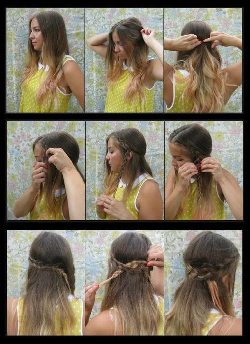 The Wrap Around Braids Hairstyle | hairstyles tutorial ...