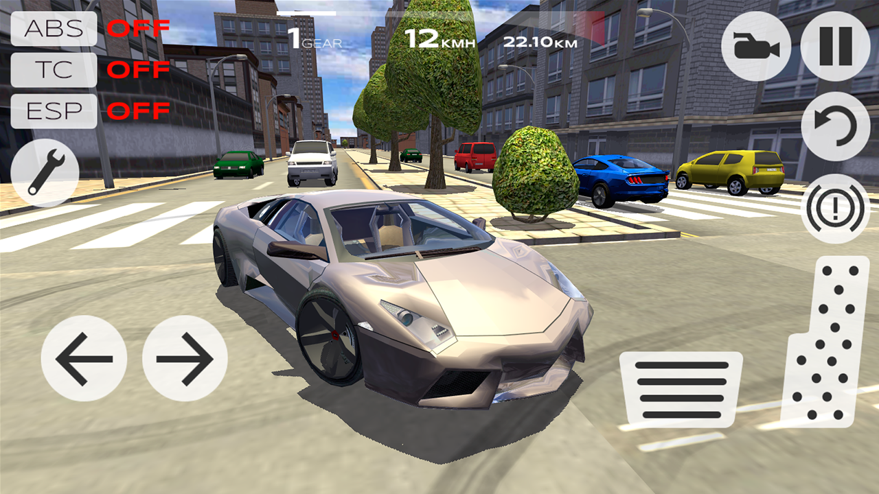 Extreme Car Driving Simulator 3D Car, Extreme,