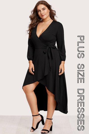 A Wide Selection Of Plus Size Dresses In A Variety Of Styles And