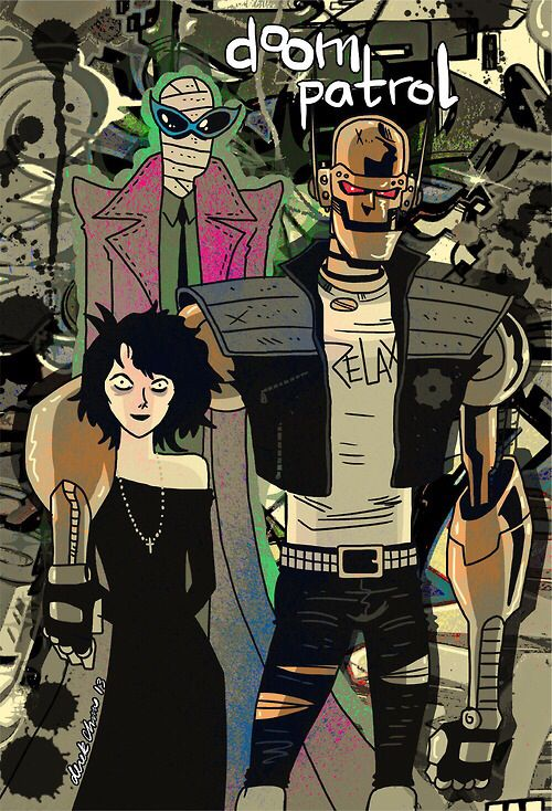 Doom Patrol Superhero Art Projects Doom Patrol Superhero Art