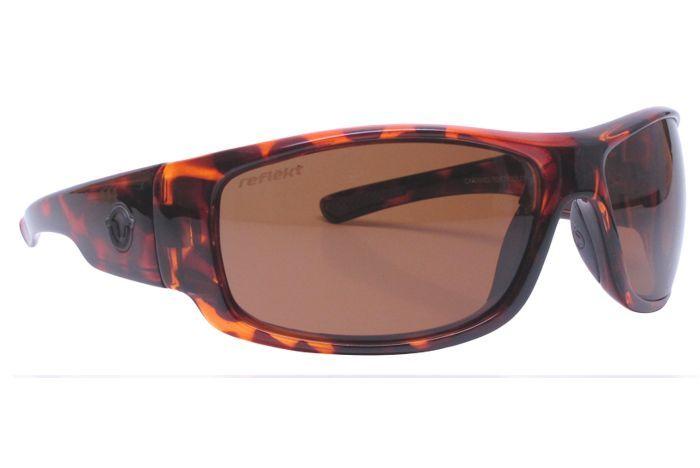 Unsinkable Polarized - Torrent Caramel Tort Sunglasses, ColorBlast Brown Lenses