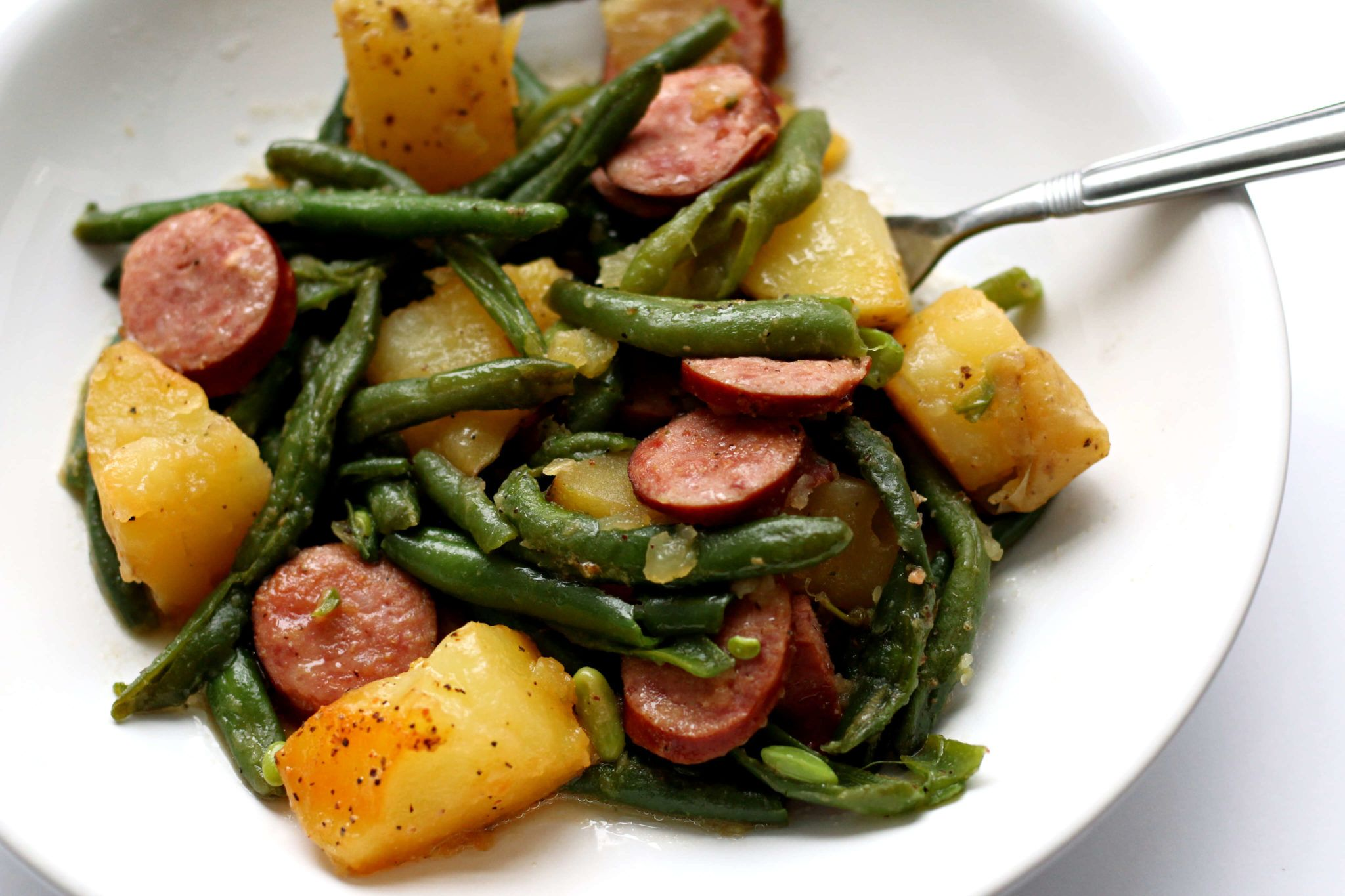 Instant pot smoked sausage green beans and potatoes 365