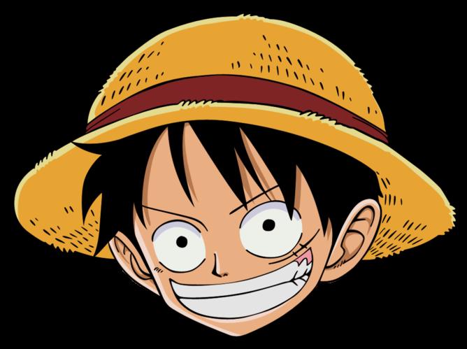 Mentahan Gambar Kepala Anime One Piece Png Menggambar Kepala Lukisan Keluarga Kartun
