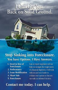 Another Super Popular Choice In Short Sale Postcards Foreclosure