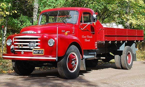 Milk truck Volvo N84