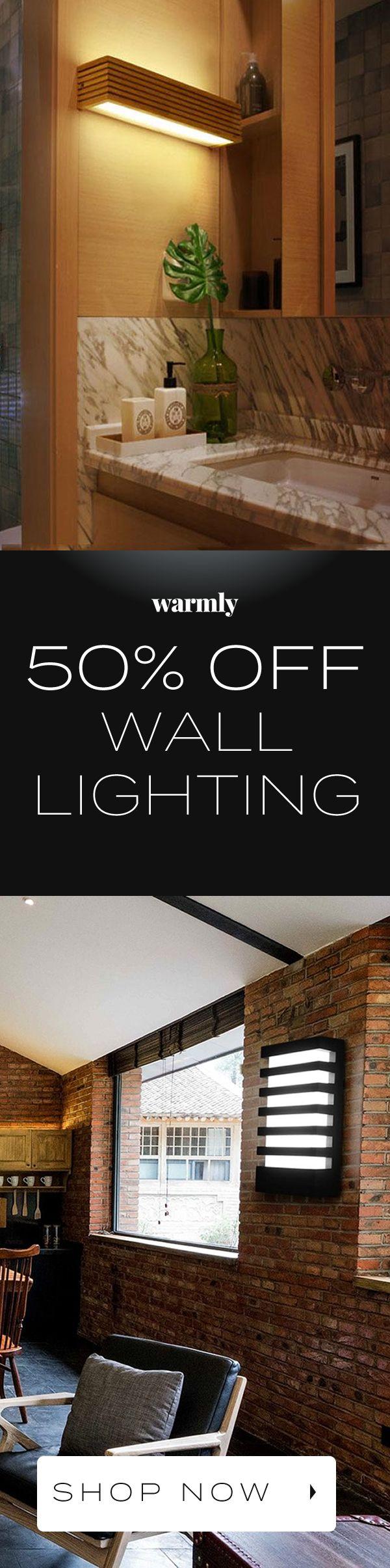 50% Off Wall Lighting at Warmly – ★★★★★ (5/5)