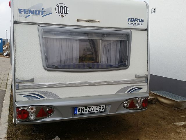 fendt caravan 550 tg wohnwagen mobile wohnwagen in. Black Bedroom Furniture Sets. Home Design Ideas