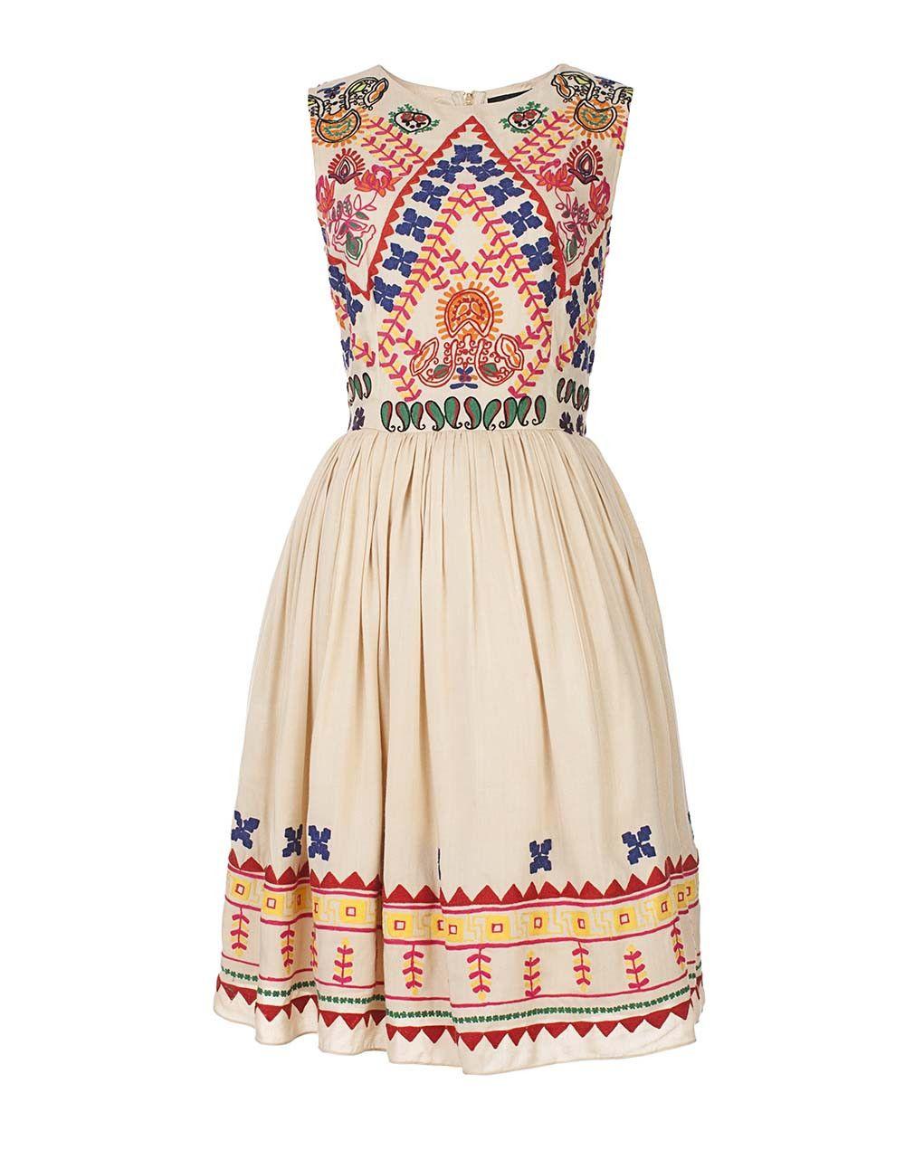 4201afd664e The Baby Doll Embroidered Dress   Stiler mod stil.   Dresses ...