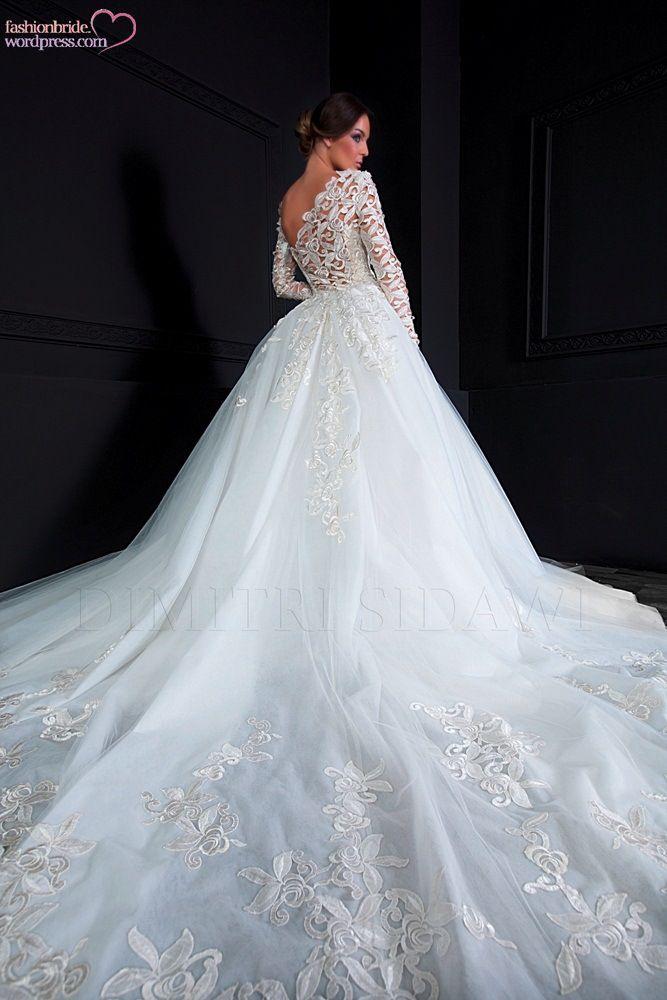 Dimitri Sidawi Spring 2017 Stunning Wedding Dresses Dream Gowns Bridal