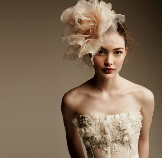 Hat fashion accessories for wedding girl