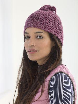 Easy Loopy Hat #crochet