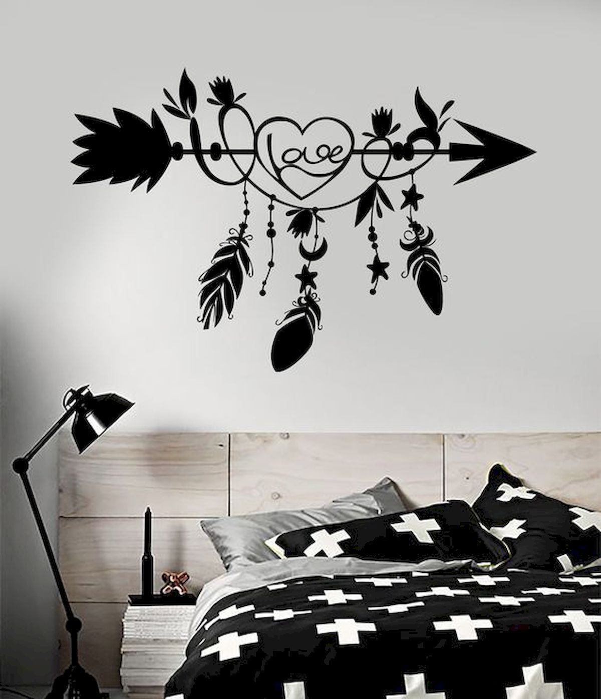 Gorgeous 44 Awesome Wall Painting Ideas To Decorate Your Home Source Https House8055 Com 44 Aw Wall Decals For Bedroom Bedroom Wall Paint Diy Wall Painting