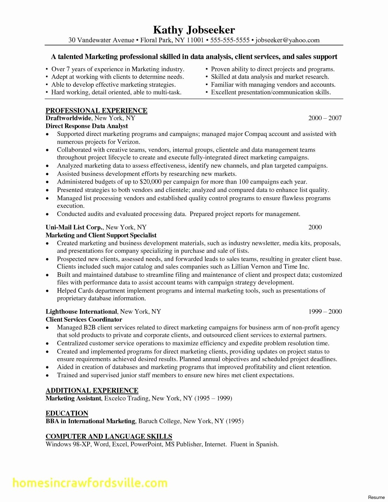 Entry Level Security Analyst Resume Best Of Entry Level