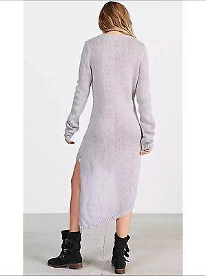 NEW Free People One Teaspoon  Made For  Oversized Sweater Dress Size Small  Gray ee879e2b4