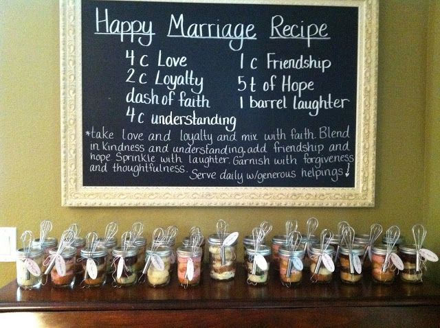 recipe for a happy marriage we could have guests bring one of their favorite recipes and create a recipe book for the bride