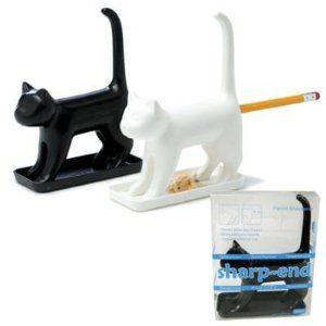 Weird Office Supplies. Office Supplies: Sharp End Cat Pencil Sharpener Weird  Supplies