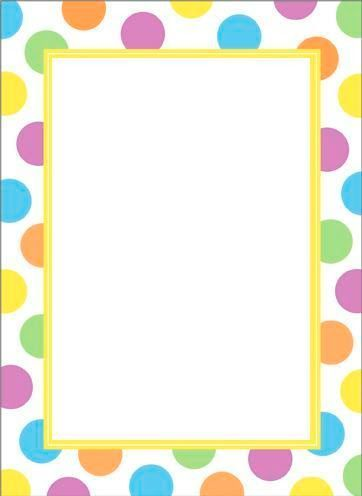 bordes scrapbook digital - Buscar con Google sensory Pinterest - rainbow page border