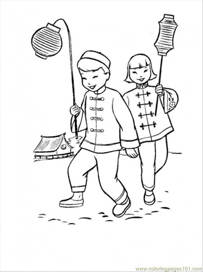Coloring Pages As Eve In China Coloring Page (Countries