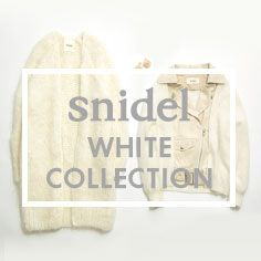 snidel WHITE COLLECTION