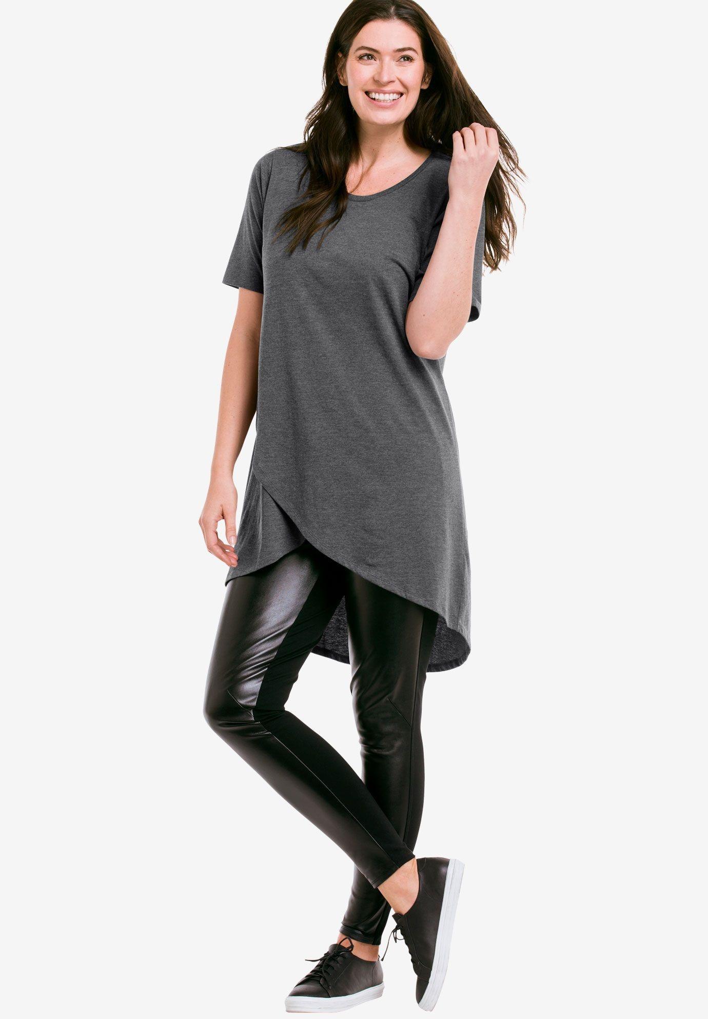 Vêtements Grande Taille · Tenues Grande Taille · Tulipes · Tulip Hem Tunic  by ellos - Women s Plus Size Clothing Minimaliste Chic, Mode De Femmes dbff32958015