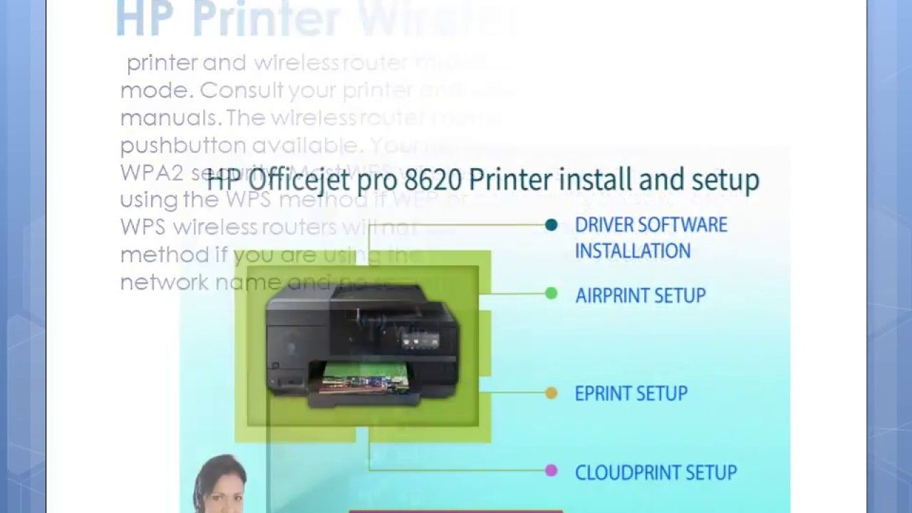 HP Printer Connect Wireless Network Using Wi-Fi Protected