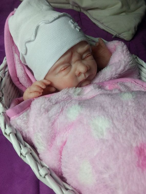 Girl Aleksandra preemie-Full body silicone baby OOAK Magdalena\'s Art ...