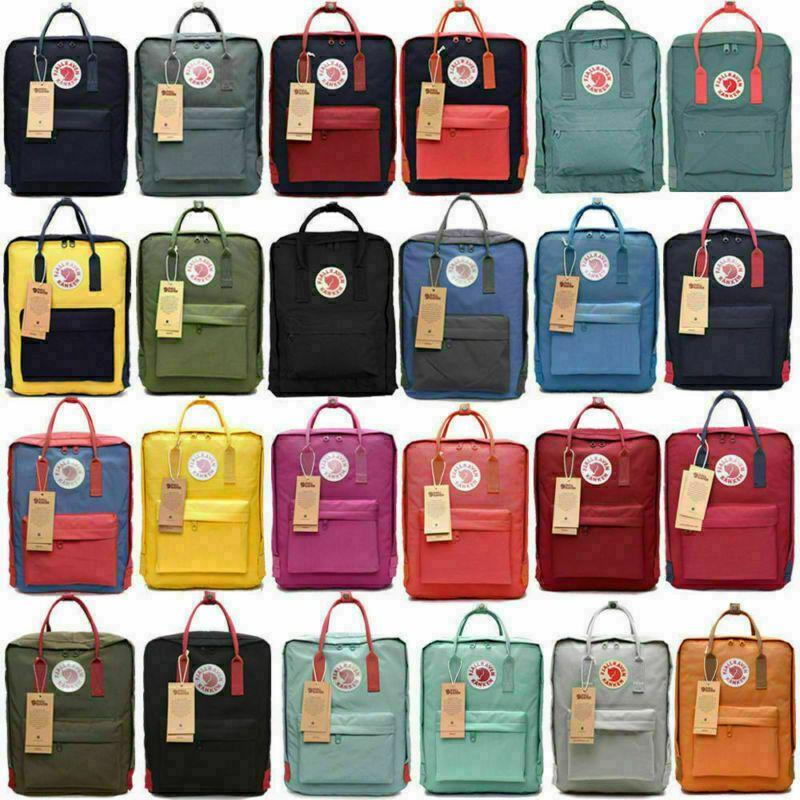 7L//16L//20L Waterproof Sport Fjallraven Kanken Backpack Handbag School Travel Bag