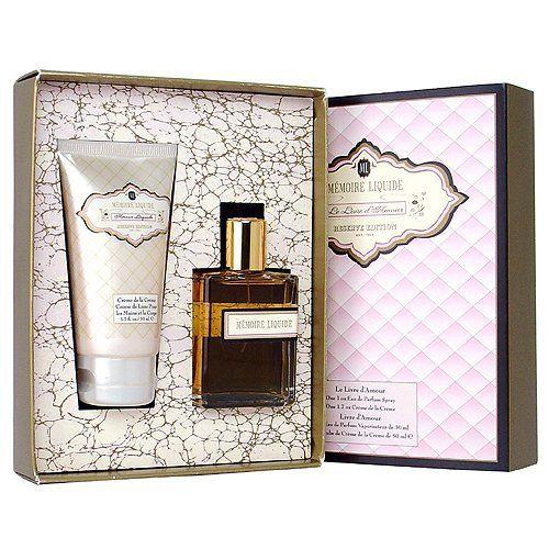 Memoire Liquide Reserve Edition Le Livre D Amour Fragrance Gift Set Amour Liquide Eau De Parfum Spray 1 0 Oz Bo Beauty Sets Fragrance Set Women Fragrance