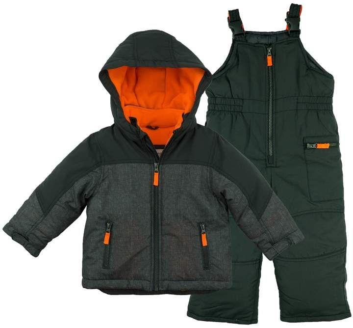 85a4d432ecd Carter s Toddler Boy Heavyweight Jacket   Snow Pants Set