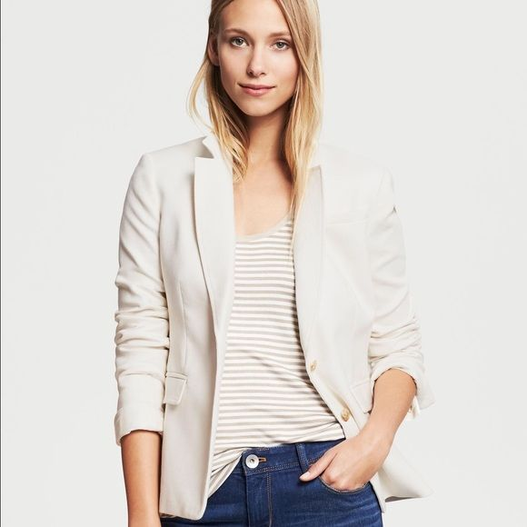 NWT Banana Republic Linen Blend Blazer NWT | Banana republic ...