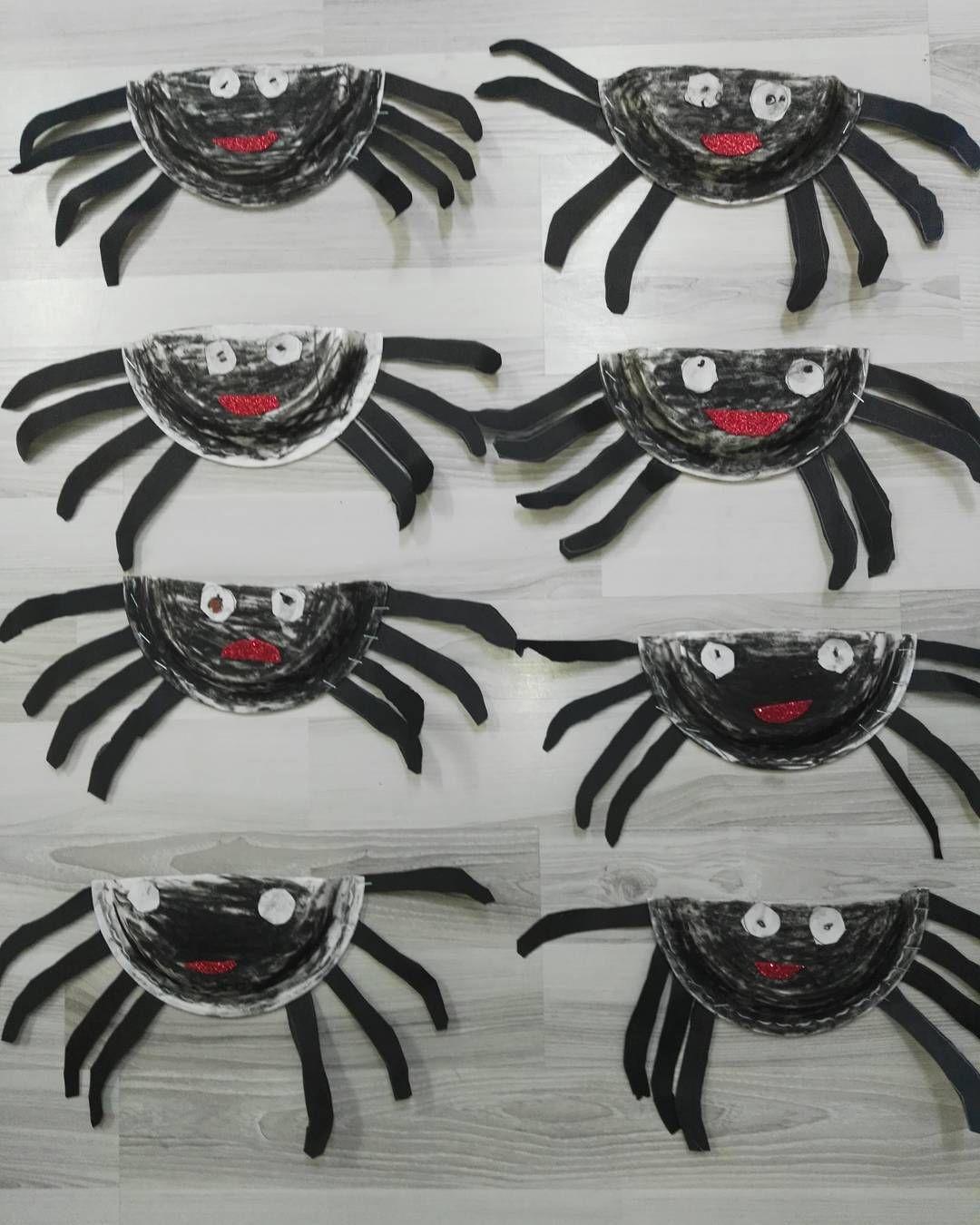 Paperplate Spider Craft
