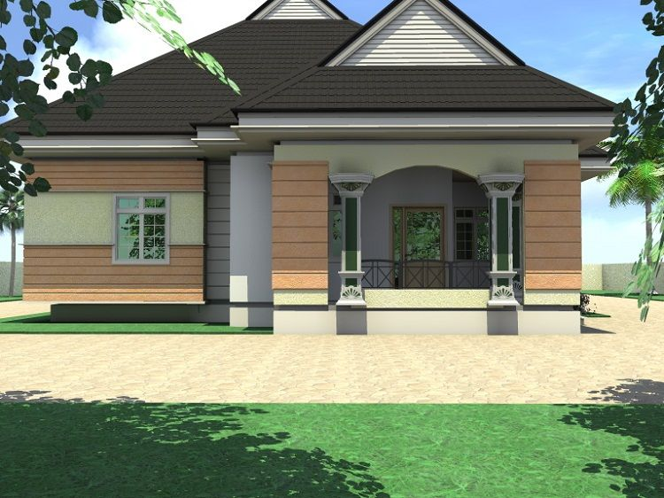 Architectural Designs For Nairalanders Who Want To Build Properties 7 Nigeria Architectural House Plans Beautiful House Plans Bungalow Design