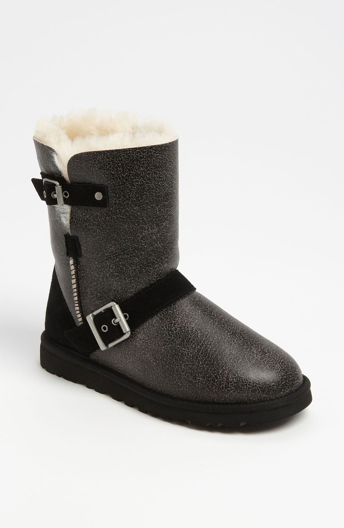 Ugg Australia Classic Short Dylyn Ankle Boots Color Black  Women